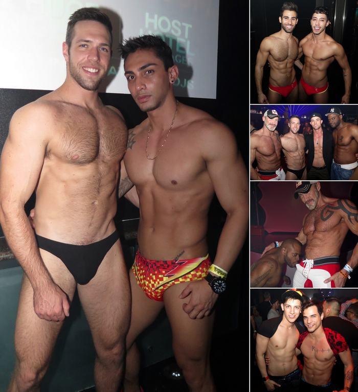 Gay Porn Stars HustlaBall Las Vegas Closing Party Alex Mecum Drae Axtell Pablo Hernandez Dallas Steele Diesel Washington Ryan Rose