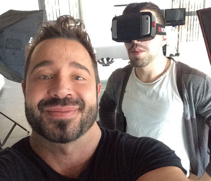 VR Gay Porn Stars Martin Mazza Josh Milk VirtualRealGay