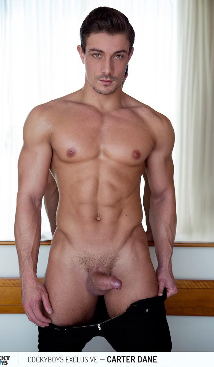 Carter Dane Gay Porn Star CockyBoys Canadian Muscle Bottom