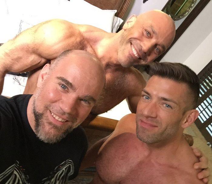 TitanMen Jesse Jackman Bruce Beckham Jasun Mark Gay Porn BTS