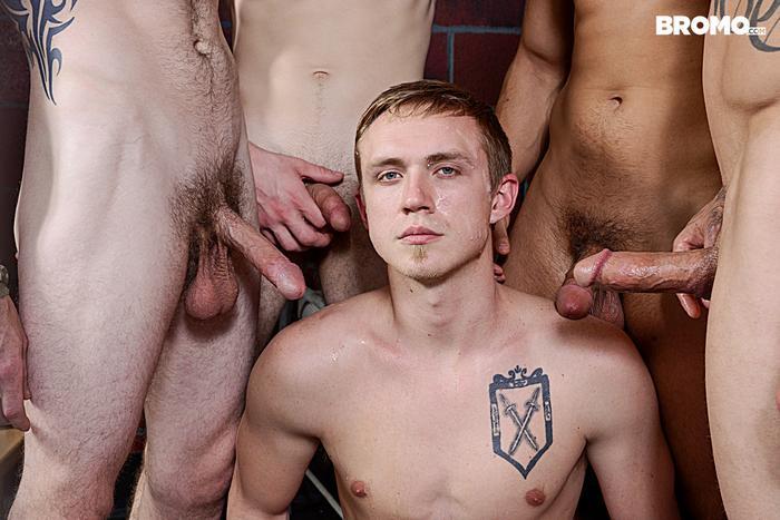 Gay Porn Prison Bareback Orgy 8