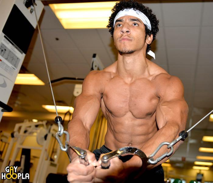 Lorenzo Joseph Muslce Hunk Porn Model GayHoopla