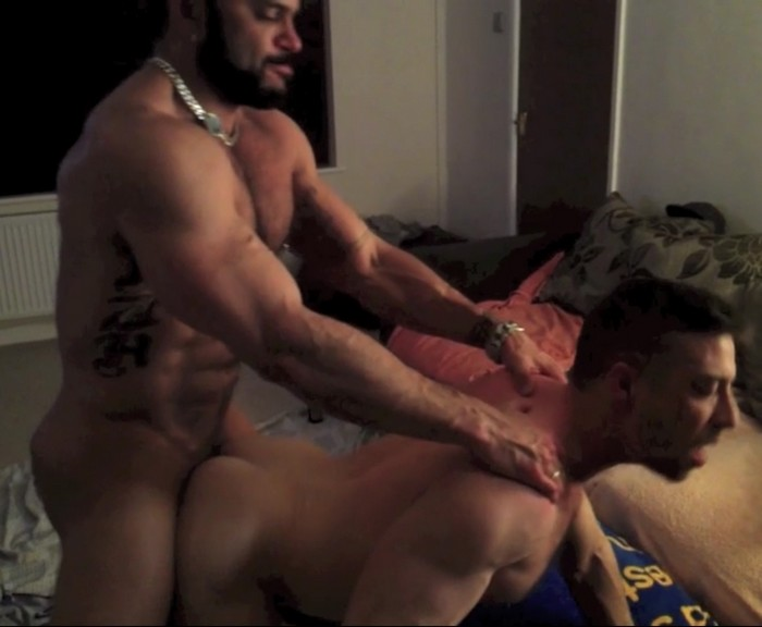 Rogan Richards Gay Porn Star Scott Hunter Muscle Hunk