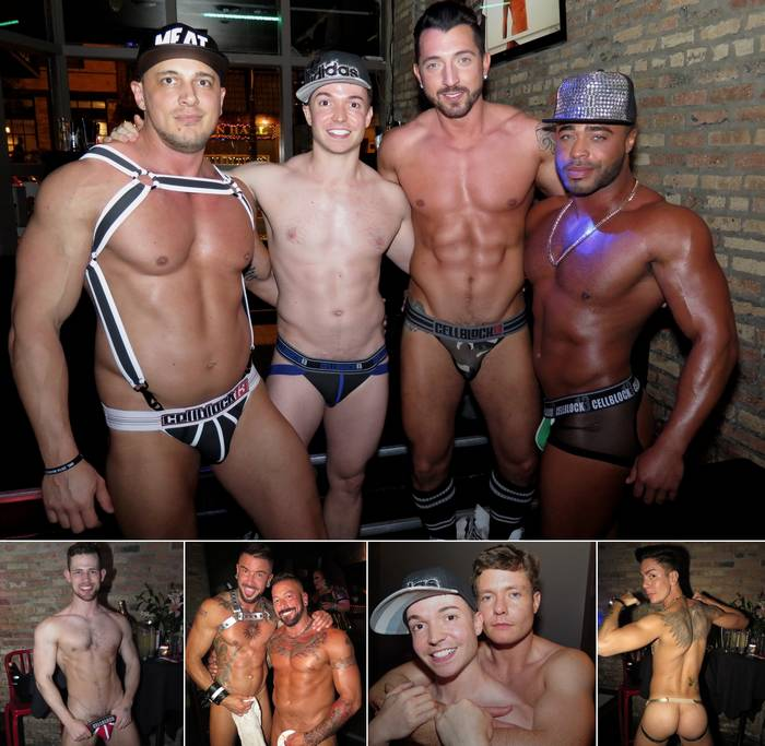 Grabbys 2016 Gay Porn Star Party Go-Go Dance