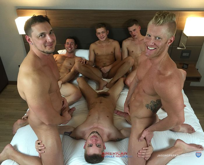 Gay Porn Orgy JoeyD JohnnyV Joshua James Ty Thomas Cash Lockhart Ian Levine