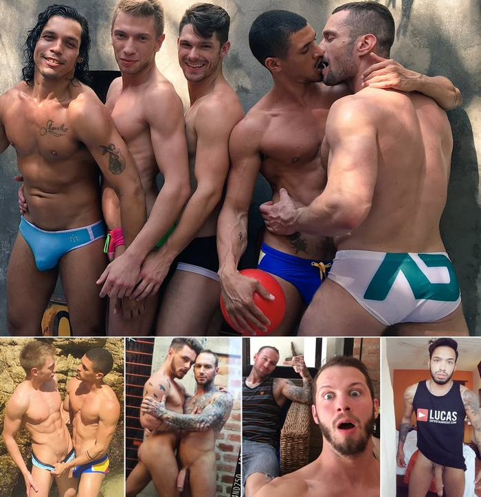 Gay Porn Stars Alejandro Castillo Bogdan Gromov Devin Franco Ibrahim Moreno Stas Landon Josh Ryder Dylan James