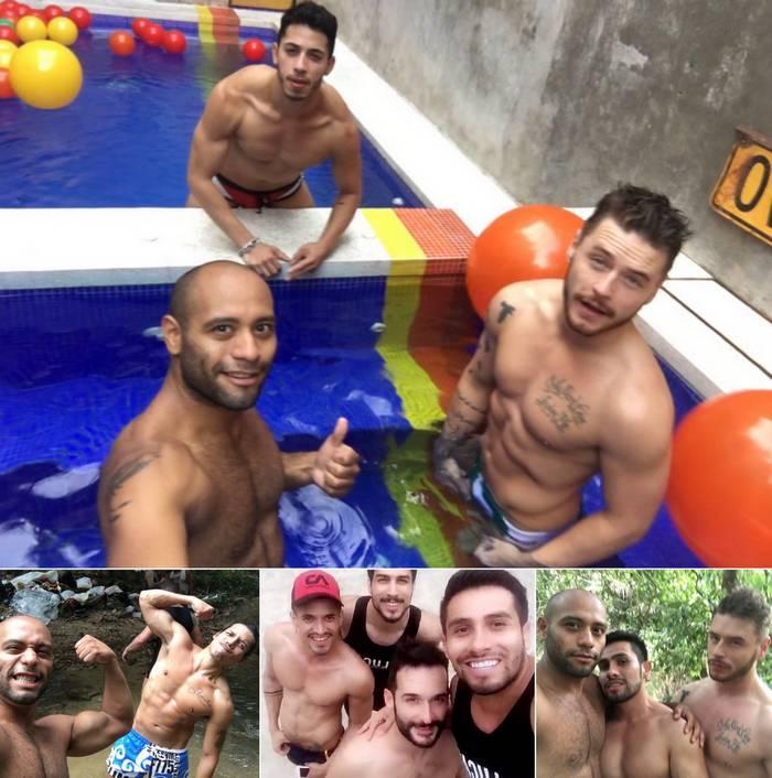 Gay Porn Stars LucasEnt Mexico BTS