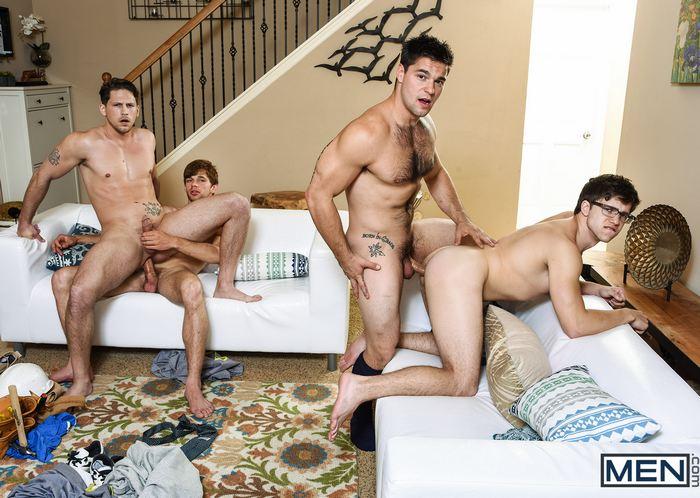 Gay Porn Orgy The Purge Aspen Roman Todd Dalton Briggs Will Braun