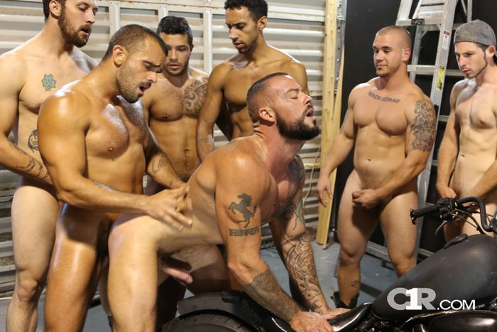 5 On 1 Gay Gang Bang Pictures