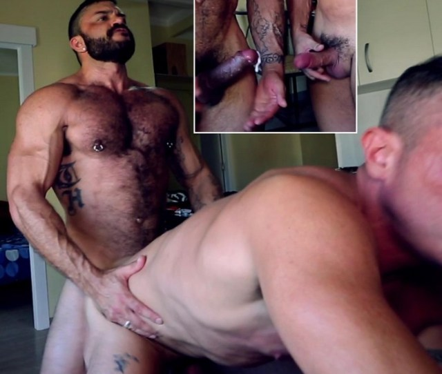 Rogan Richards Fucks Marc Ferrer Bareback Until He Cums Uses It As Lube Keeps On Pounding Video