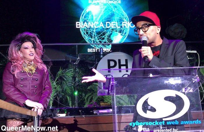 Bianca Del Rio Chi Chi LaRue Cybersocket