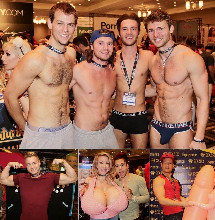 Gay Porn Stars Armond Rizzo Jaden Storm Ashley Ryder Connor Colin Hart AVN Expo 2017