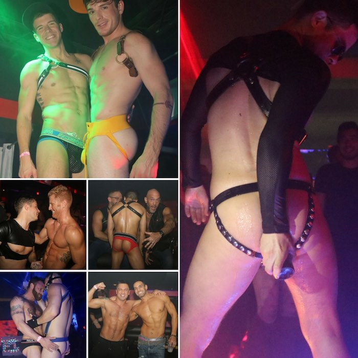 Gay Porn Stars HustlaBall Las Vegas 2017 Closing Party