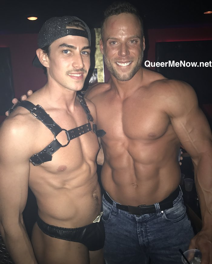 Jack Sean Cody Gay Porn Star Jack Hunter HustlaBall Las Vegas Flair Nightclub