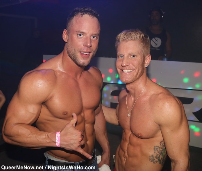 Jack Sean Cody Gay Porn Star JohnnyV HustlaBall Las Vegas Flair Nightclub