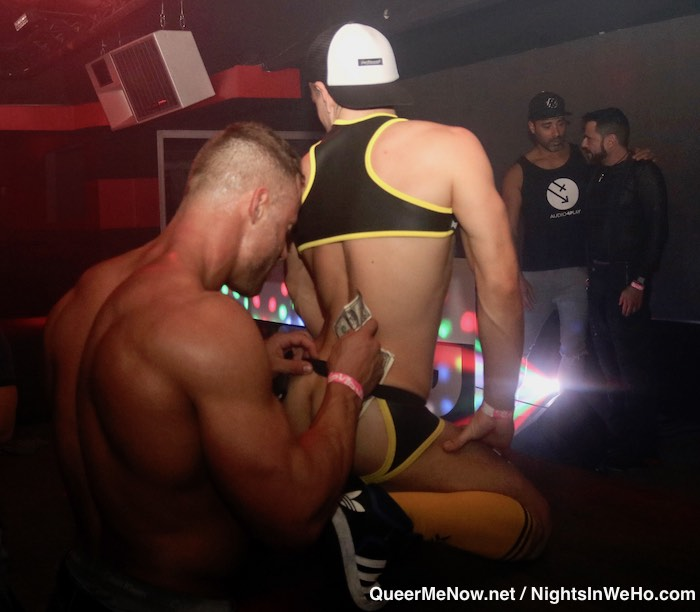 Jack Sean Cody Gay Porn Star Josh Milk HustlaBall Las Vegas Flair Nightclub 1