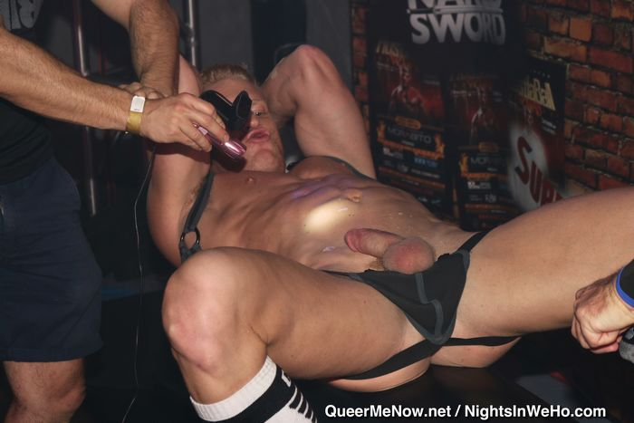 HustlaBall Las Vegas Gay Porn Stars Live Sex JohnnyV Tex Davidson