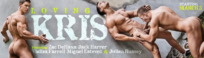 Kris Evans BelAmi Gay Porn Star LOVING KRIS