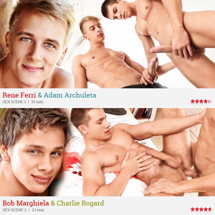 Rene Ferri BelAmi Bob Marghiela Gay Porn Freshmen