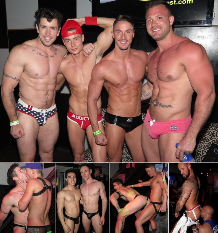 Gay Porn Stars GoGo Dancing Trenton Ducati Skyy Knox Austin Wolf Forrest Marks Michael Roman BS West