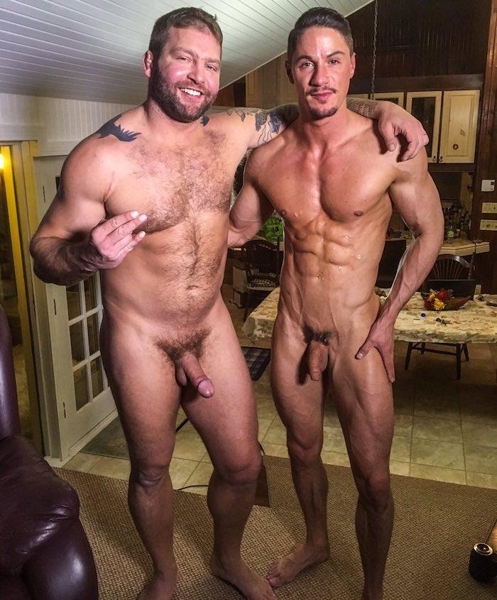 Skyy Knox Colby Jansen Gay Porn BTS