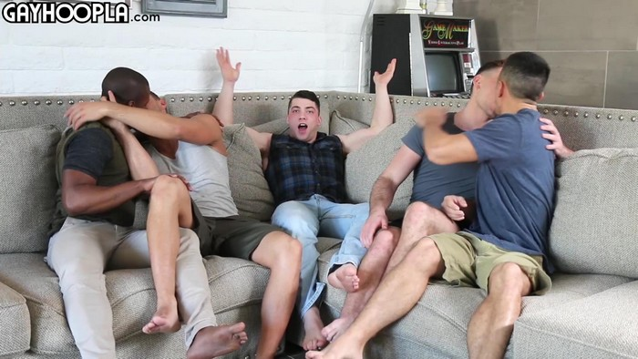 Gay Porn Collin Simpson Alex Griffen Zach Douglas Tyler Smith Forrest Marks Orgy
