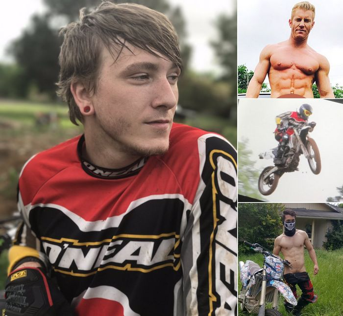 Gay Porn Motocross Tom Faulk JohnnyV Gabriel Alanzo Nakedsword