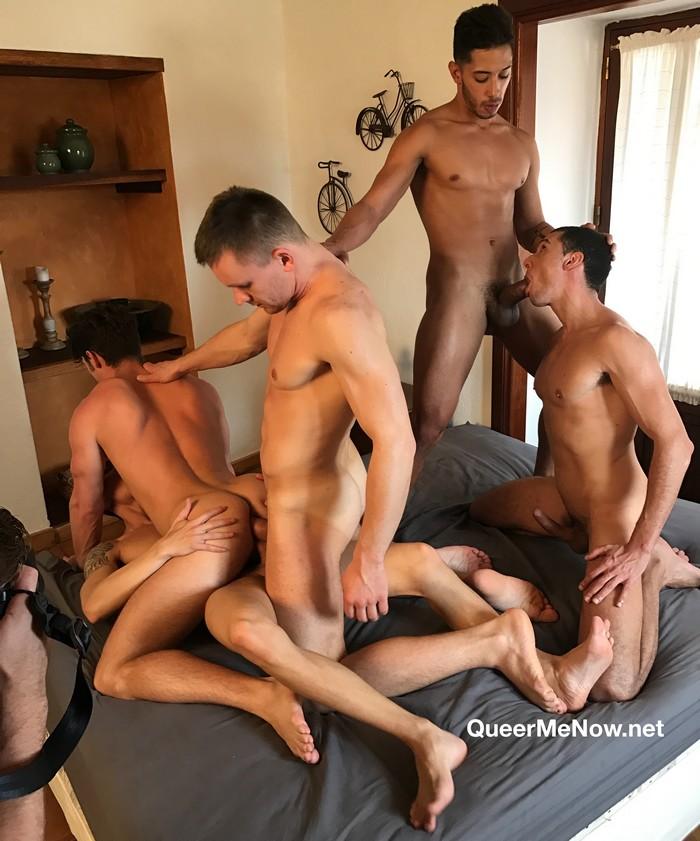 Gay Porn Orgy Devin Franco Andrey Vic Javi Velaro Drae Axtell Angel Cruz DP Bareback Sex
