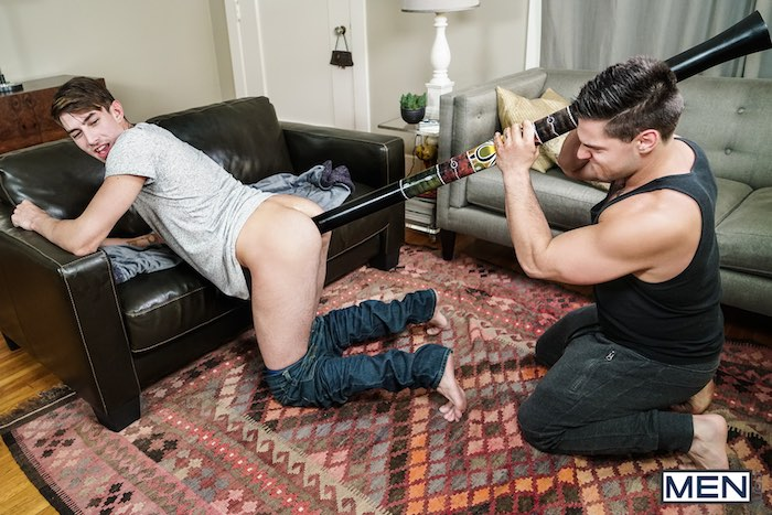 Didgeridoo Gay Porn Sex Toy Aspen Jack Hunter
