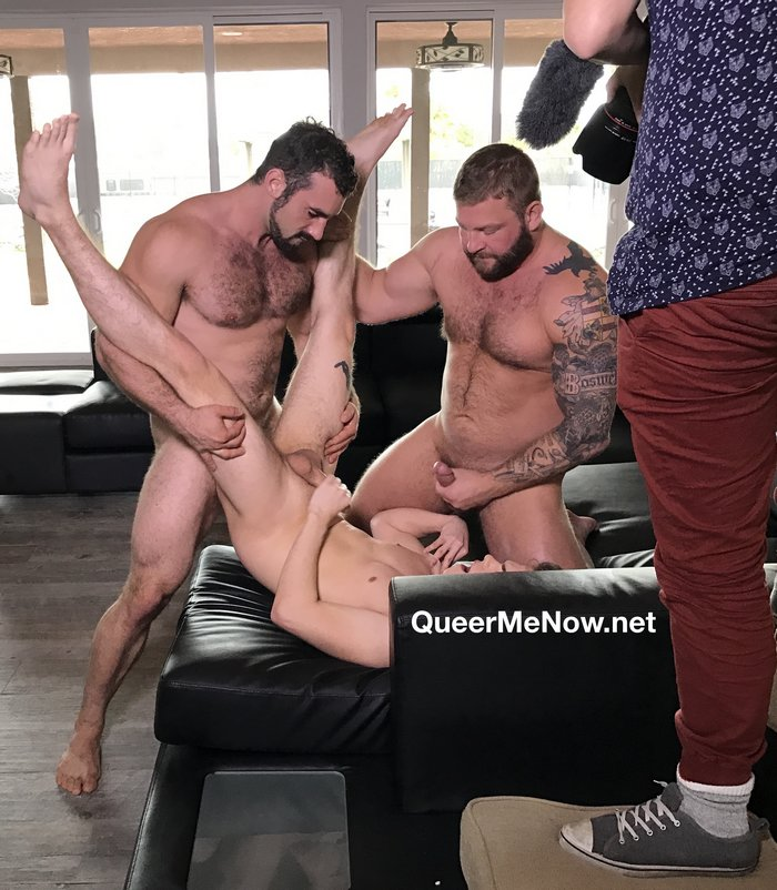 Gay Porn Behind The Scenes Colby Jansen Jaxton Wheeler Abe Andrews