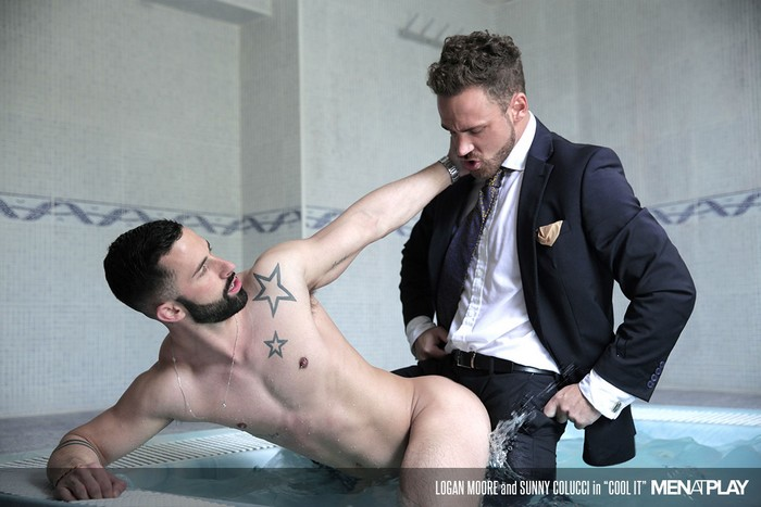 from Axel gay business suit sex