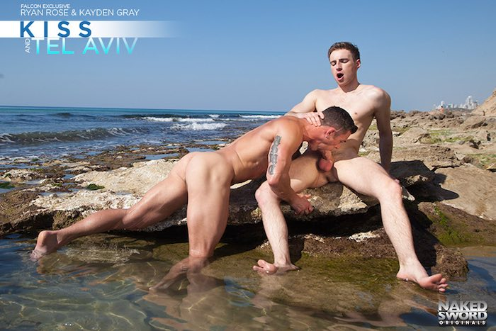 Ryan Rose Gay Porn Kayden Gray Beach Sex
