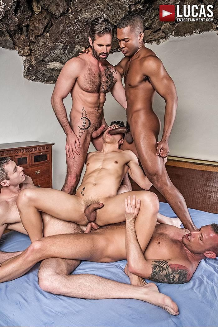 Dani Robles Sean Xavier Ken Summers Logan Rogue Ralph Novak Gay Porn Orgy Double Penetration