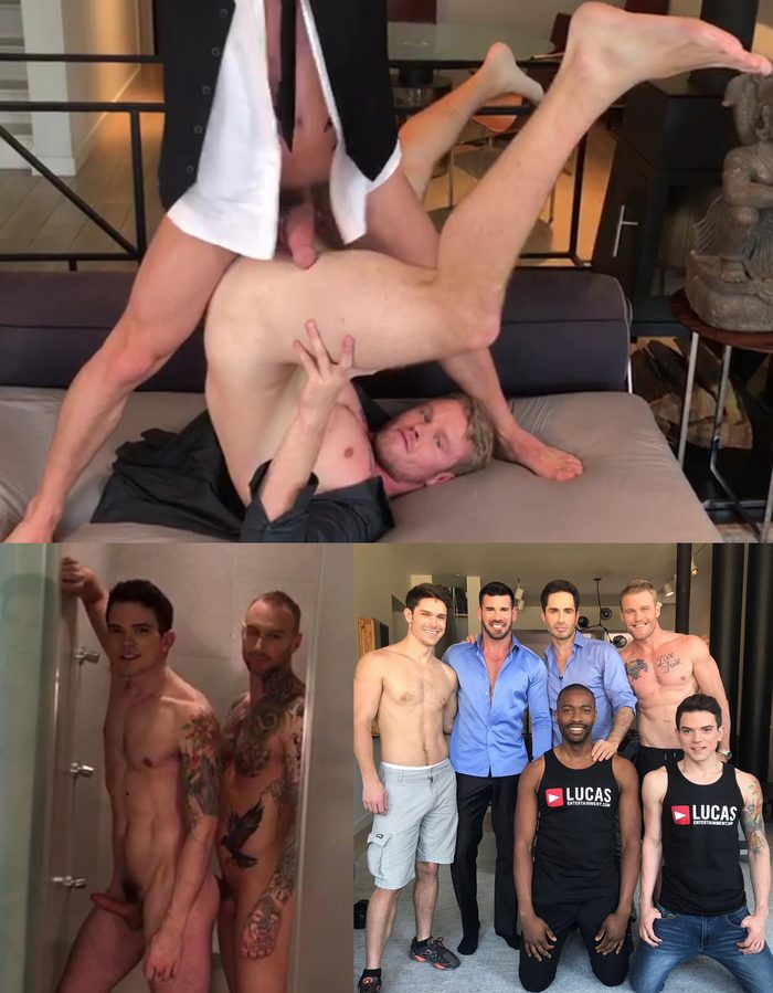 Gay Porn Behind The Scenes Shawn Reeve Dylan James Dakota Payne