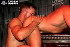 Gay Porn Bruce Beckham Alex Mecum Austin Wolf Live Sex Show-39