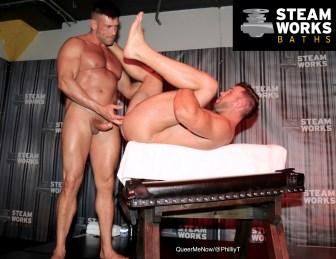 Gay Porn Bruce Beckham Alex Mecum Austin Wolf Live Sex Show-43