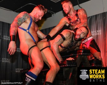 Gay Porn Hugh Hunter Dolf Dietrich Rikk York Live Sex Show-27