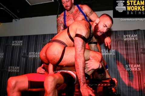 Gay Porn Hugh Hunter Dolf Dietrich Rikk York Live Sex Show-37