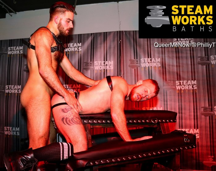 Gay Porn Stars Jackson Grant  Jack Vidra Fucking On Stage At Steamworks Chicago Exclusive Pictures  Video-7361