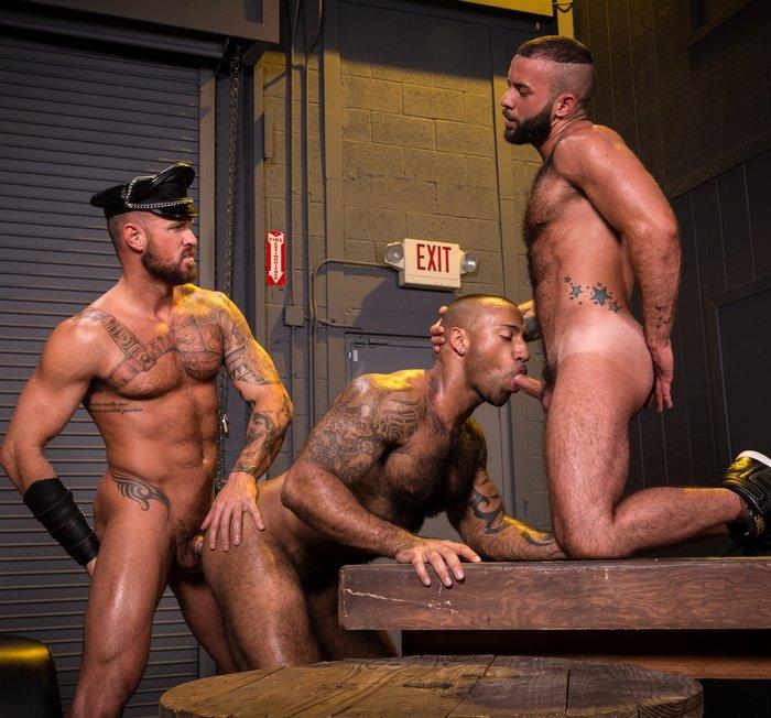 Gay Porn Michael Roman Daymin Voss Fernando Del Rio