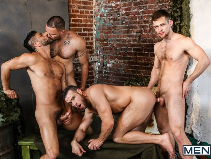 Gay Porn Orgy Alex Mecum Kurtis Wolfe Adam Ramzi Julian Knowles