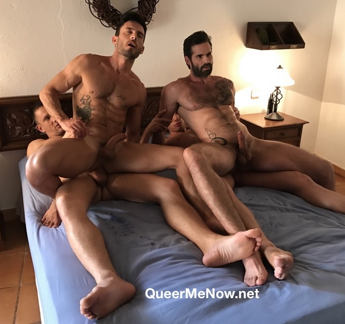 gay male porn stars behind the scenes