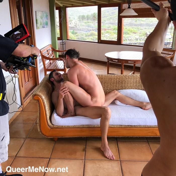 Gay Porn Behind The Scenes Damon Heart Alex Garcia Ken Summers