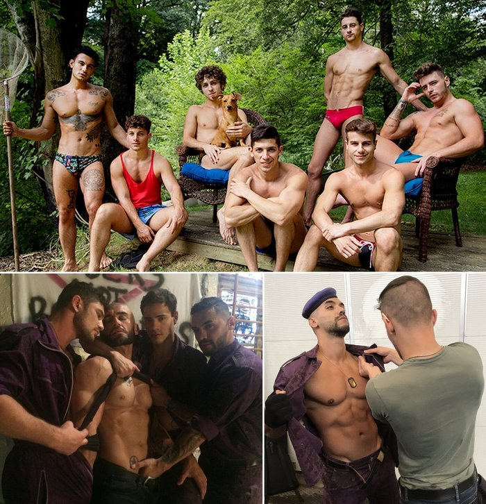 Gay Porn Camp CockyBoys The Purple Army Faction