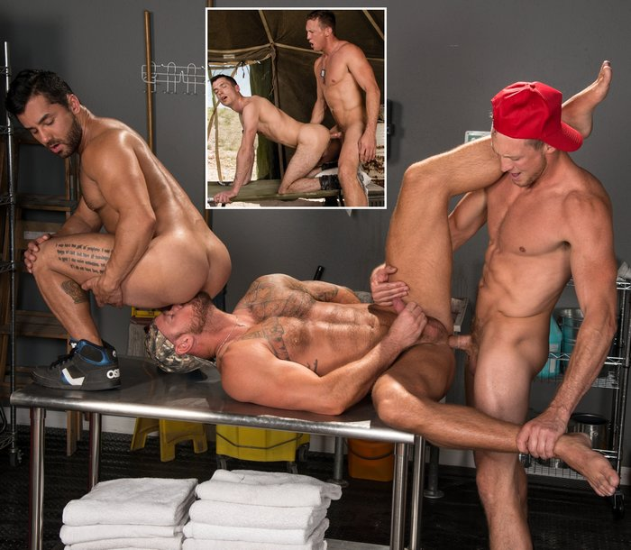 Pierce Paris Gay Porn Bruno Bernal Michael Roman Kyle McMillan