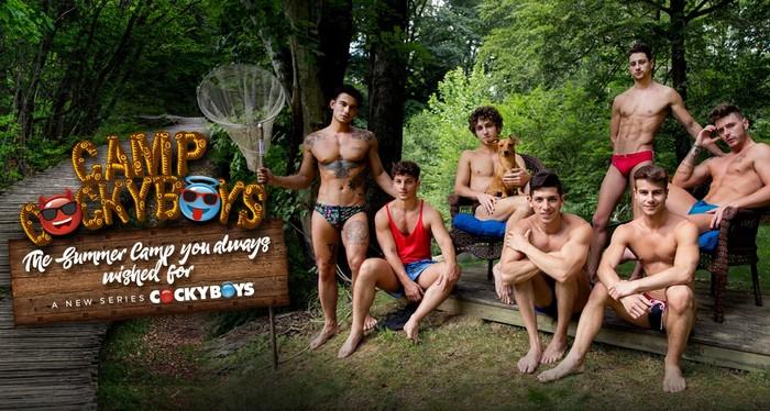 Camp CockyBoys Gay Porn Outdoor Sex