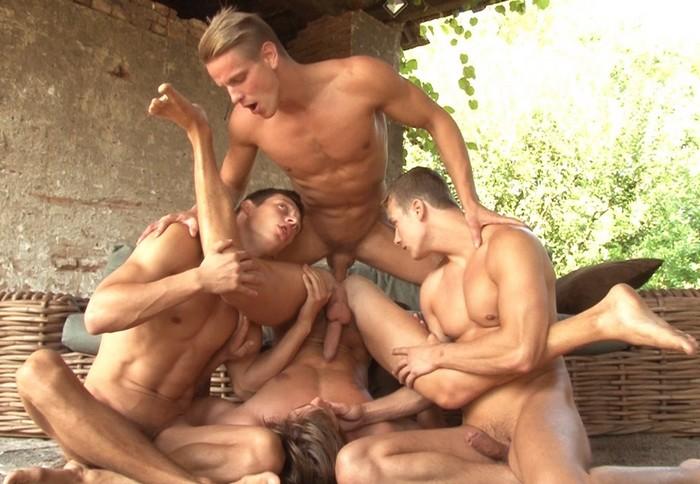 Gay Porn Orgy BelAmi Helmut Huxley Roald Ekberg Marcel Gassion Jeff Mirren