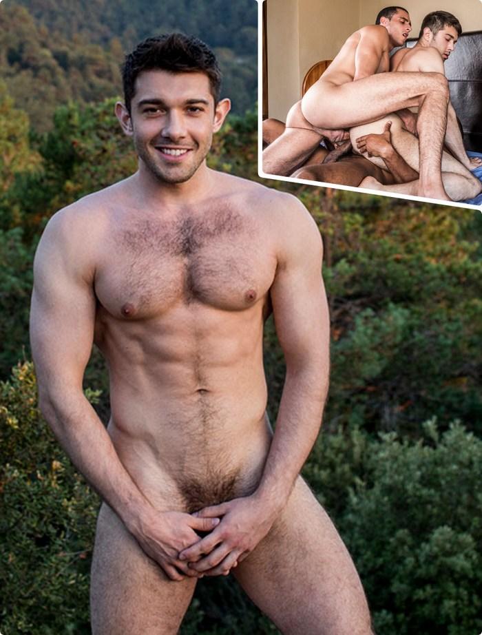 Ben Batemen Gay Porn Star Double Penetrated Sean Xavier Javi Velaro