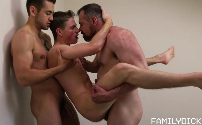 Family Dick Dad Fucks Son College Roommate Dante Colle Bareback Sex