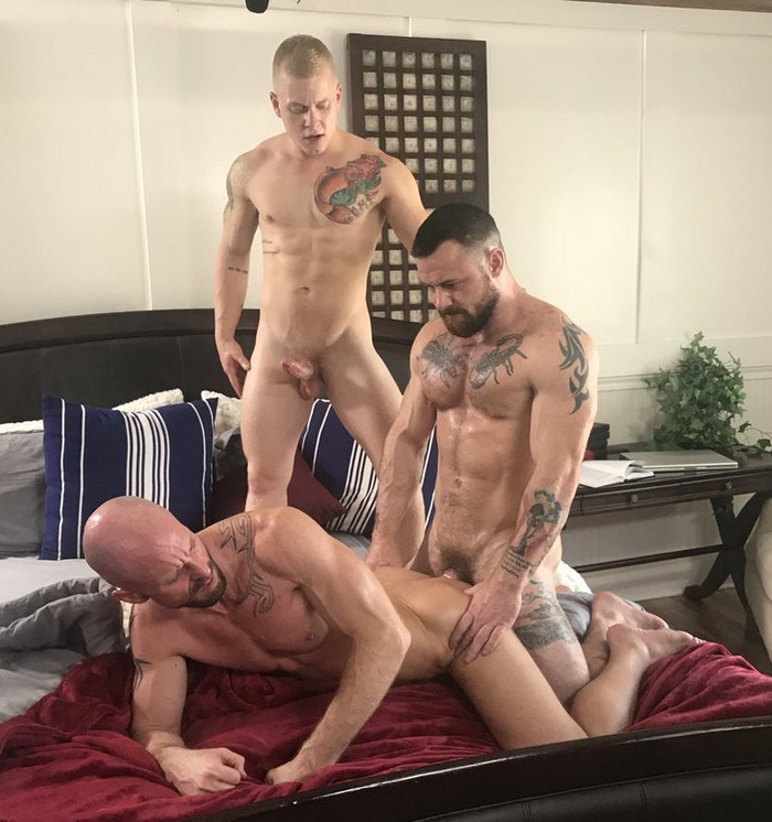 Gay Porn Mitch Vaughn Sergeant Miles Leo Luckett